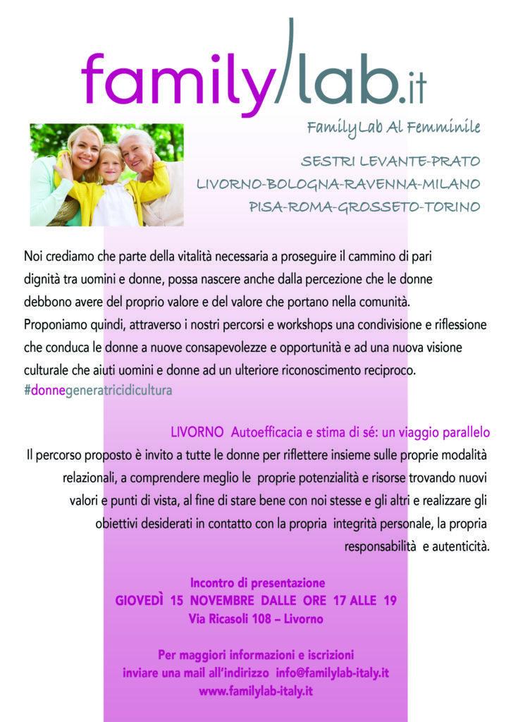 Livorno, Familylab al Femminile