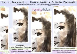 Bologna – Voci al femminile  12-26 Gennaio – 2 Febbraio